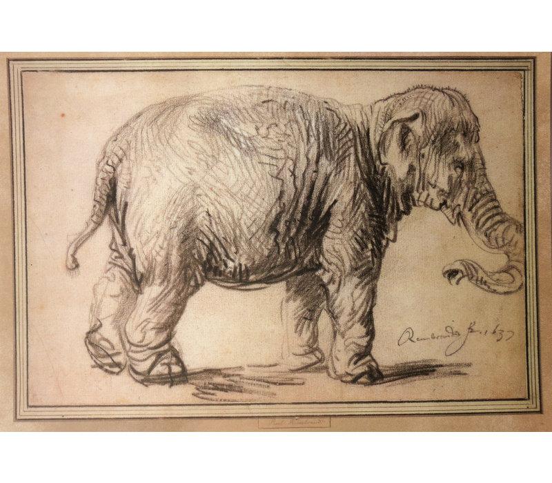 Postcard Elephant