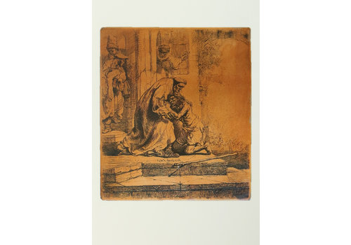 Postcards Copperplate and Etching Prodigal Son