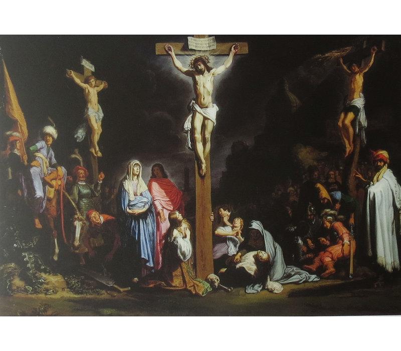 Ansichtkaart Lastman, Rembrandts Leermeester