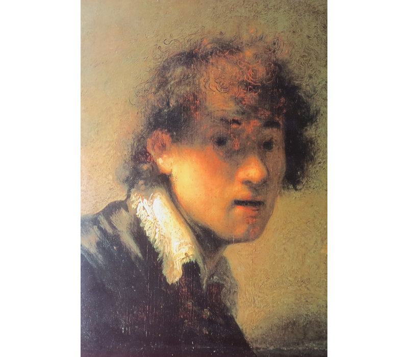 Greeting Card Self-portrait as Young Man