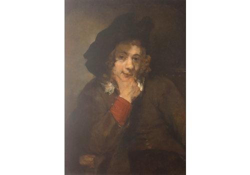 Postcard Rembrandt's Son Titus