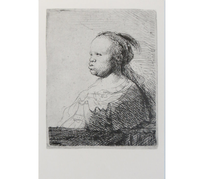 3 Postcards Black in Rembrandt's Time