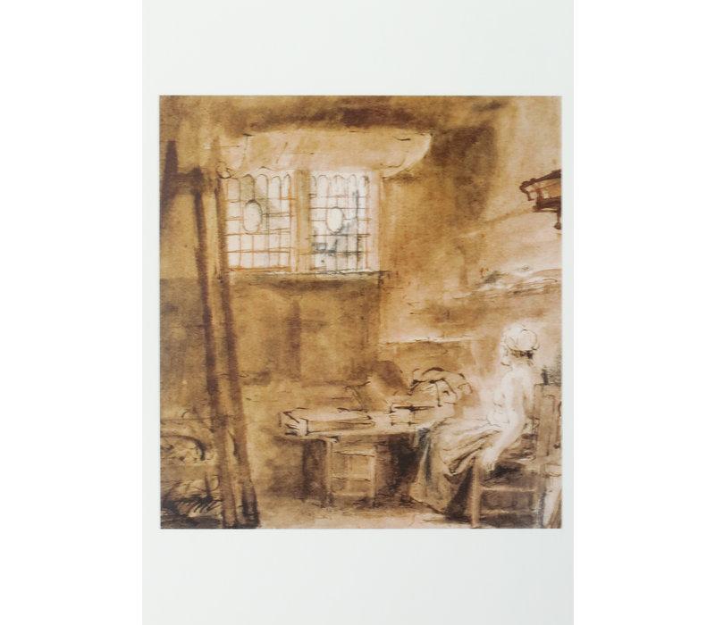 Ansichtkaarten Interieur Groote Schildercaemer