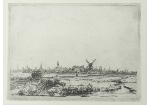 Postcard View of Amsterdam