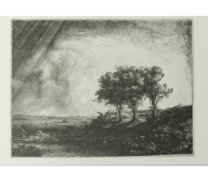 Ansichtkaart De Drie Bomen