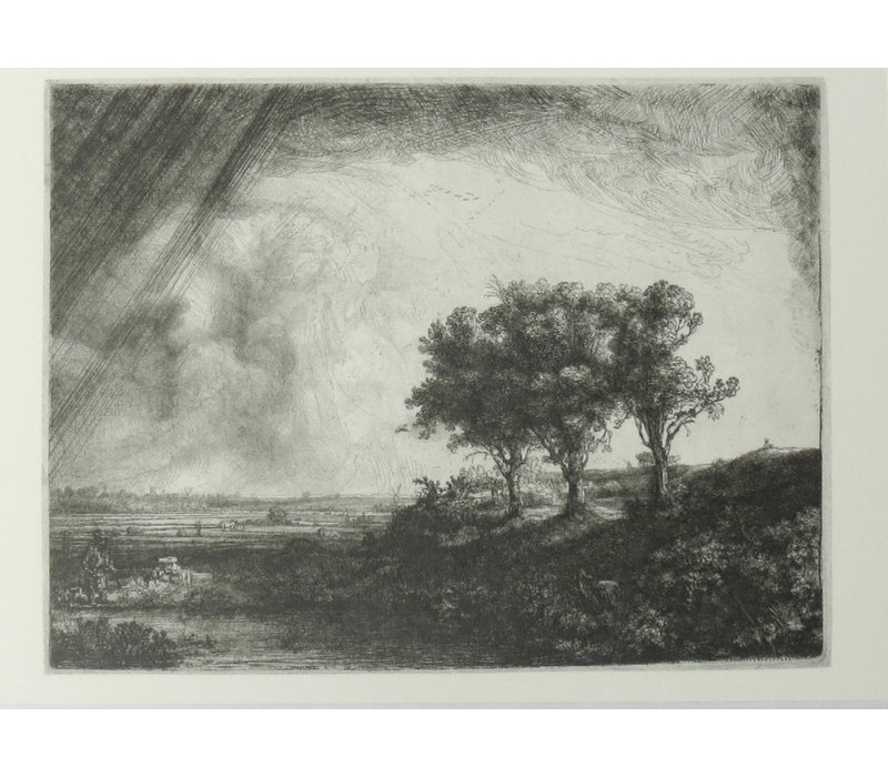 Postcard The Three Trees