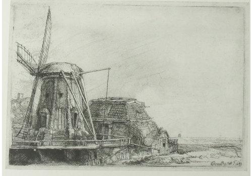 Postcard Windmill