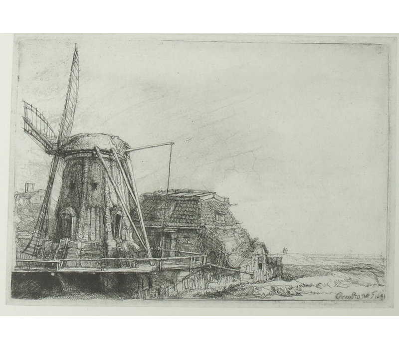 Postcard Windmill