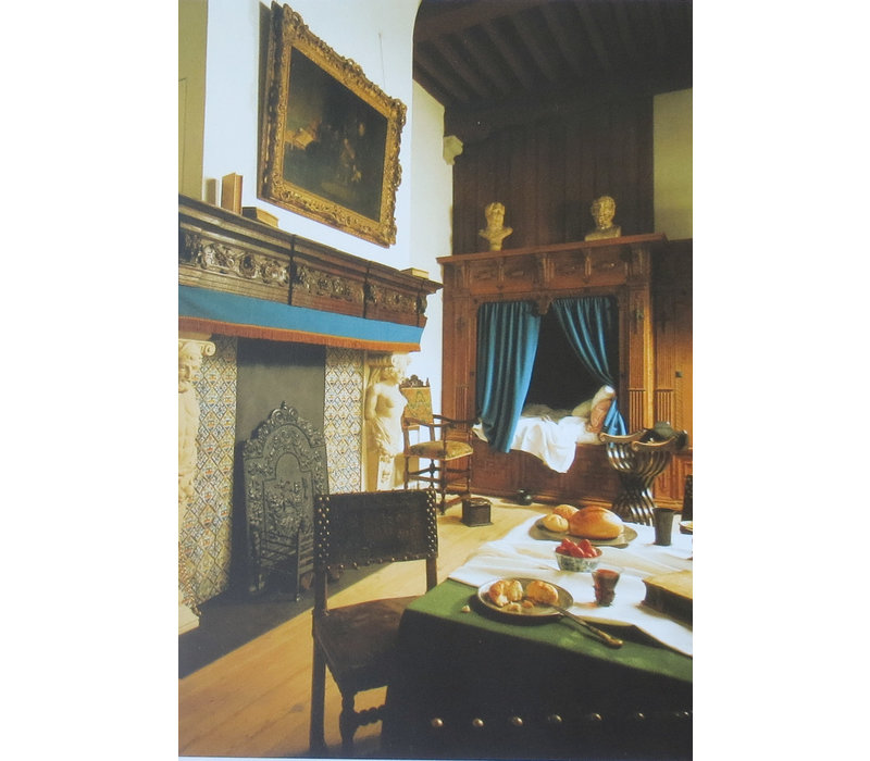 Ansichtkaarten Interieur Woon- en Slaapkamer