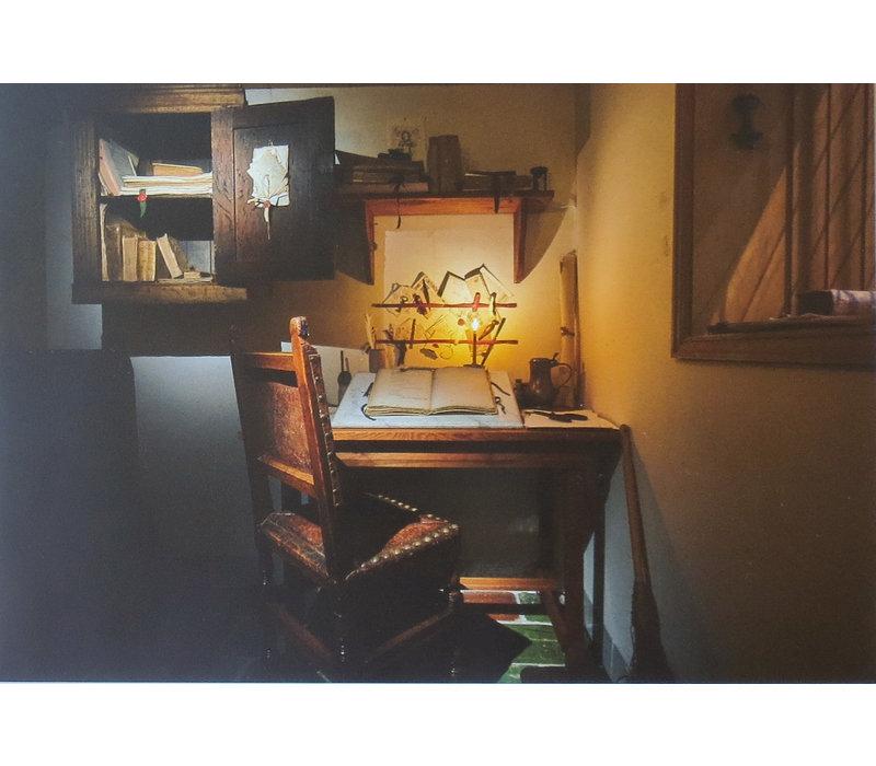 Ansichtkaarten Interieur Hal, Kunsthandel en Kantoortje