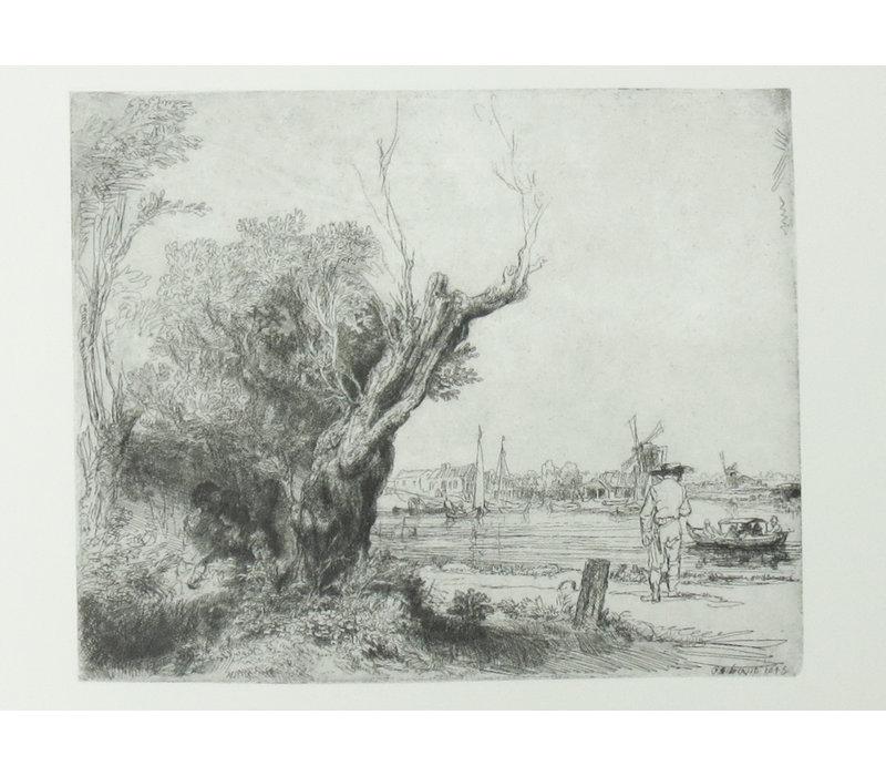 Ansichtkaart De Omval