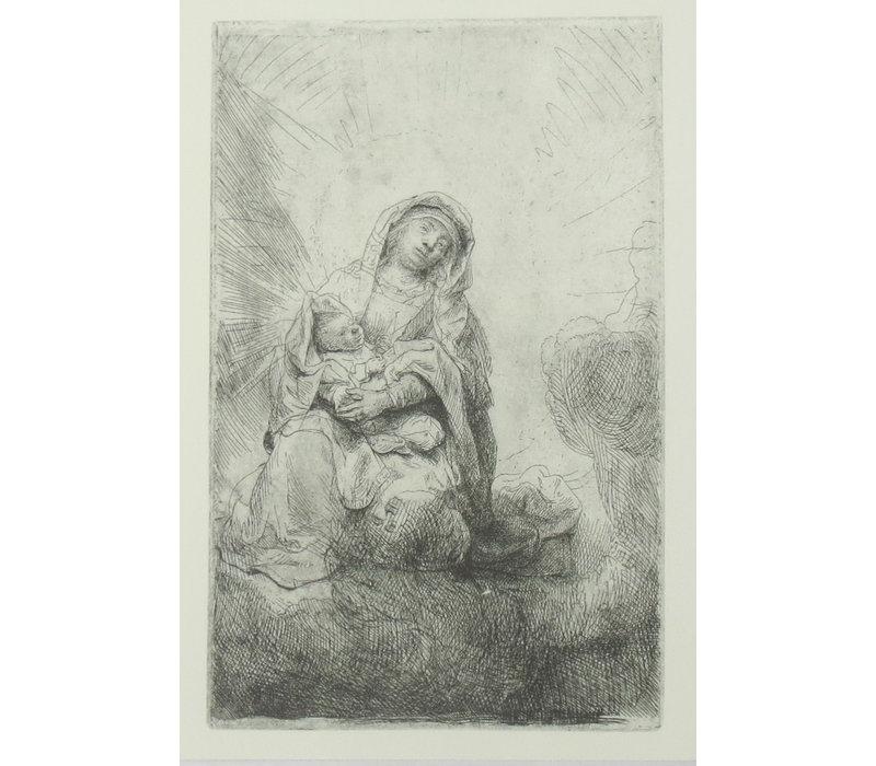 Ansichtkaart Maria met Kind