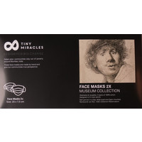 Rembrandt Mondkapjes (set van 2)