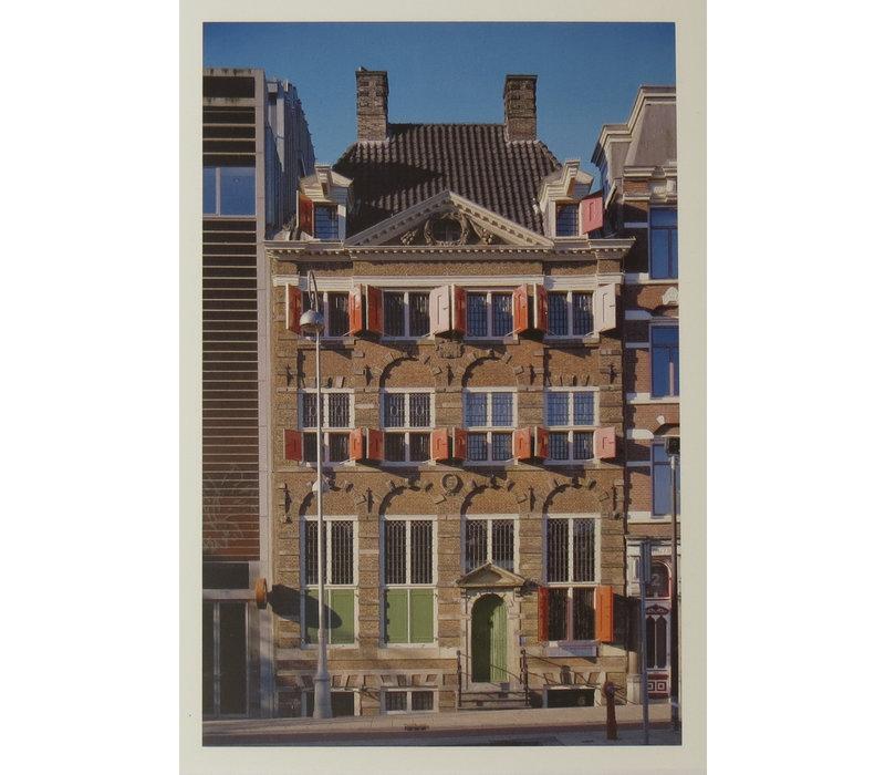 Postcard Exterior Rembrandt's House