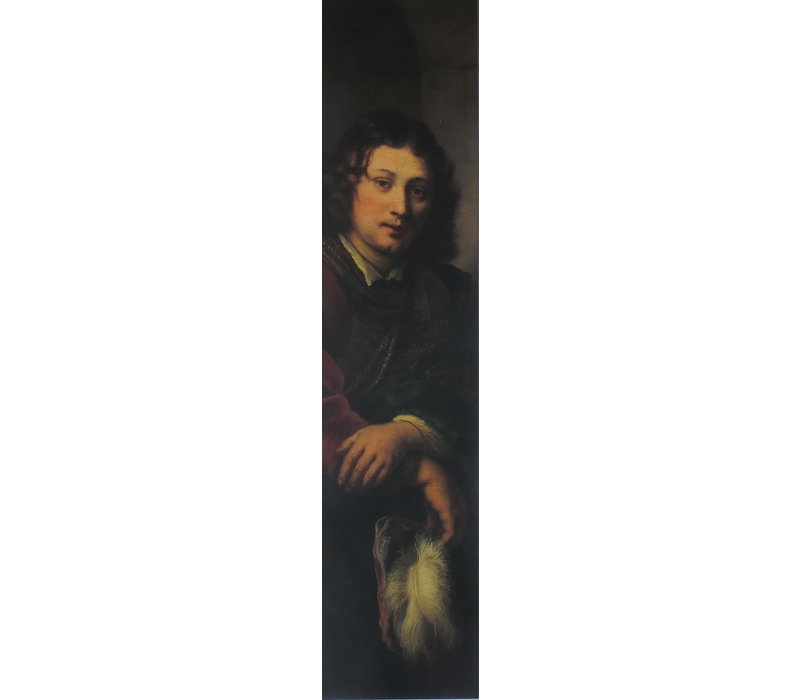 Bookmark Young Man with Feather