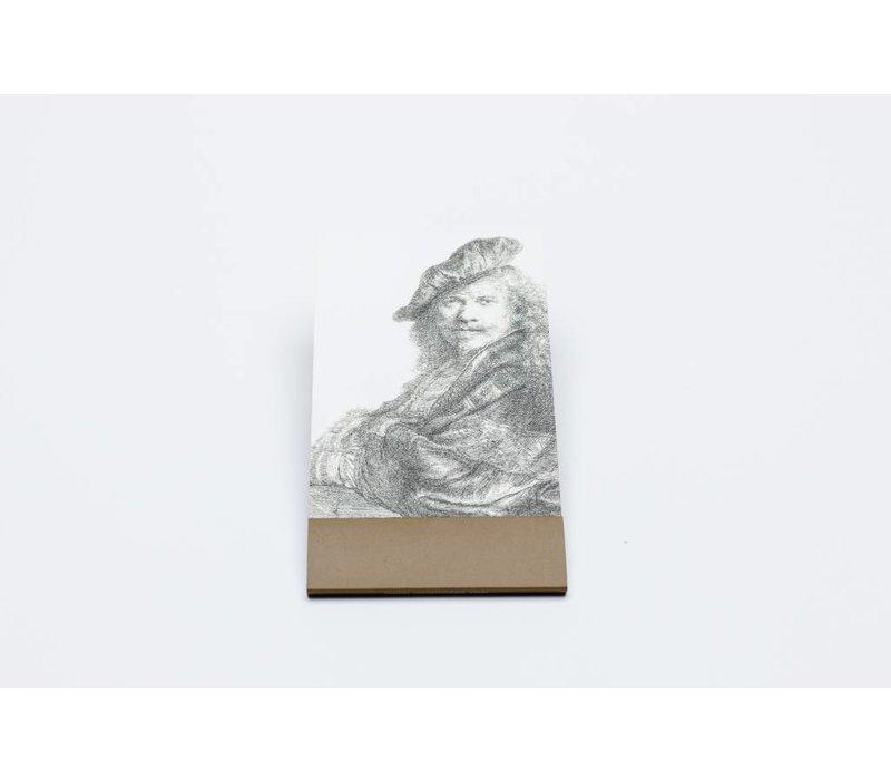 Klein notitieblokje Rembrandt