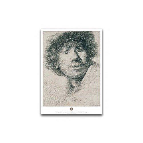 Poster Rembrandt Verbaasde Blik