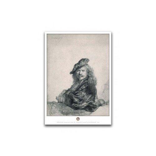Poster Zelfportret Leunend
