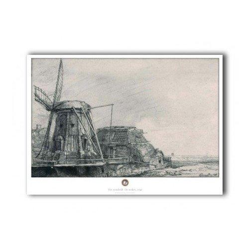 Poster Rembrandt Molen