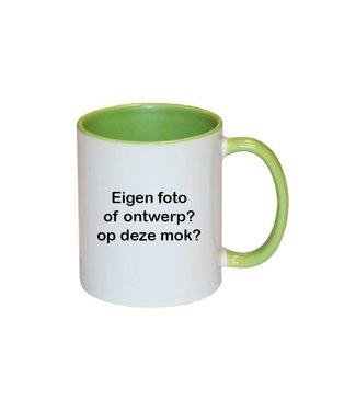 Mok met foto (groen)
