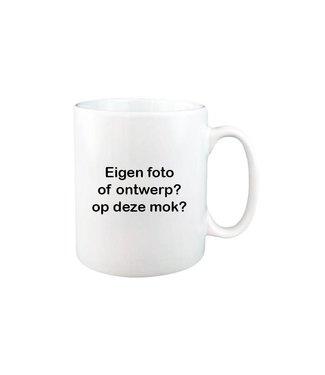Mok met foto (wit)