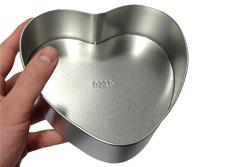 Valentijnskado koekjestrommel met foto