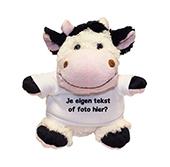 Kraamcadeau met naam knuffel koe