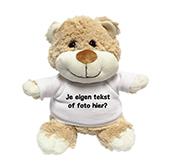Kraamcadeau met naam knuffel beer