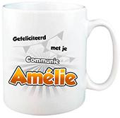 Cadeau voor eerste communie mok