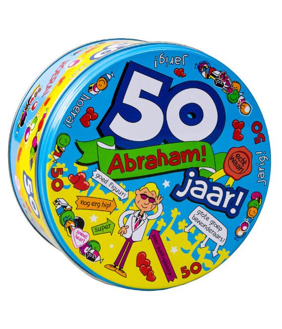 Snoeptrommel Abraham 50 jaar