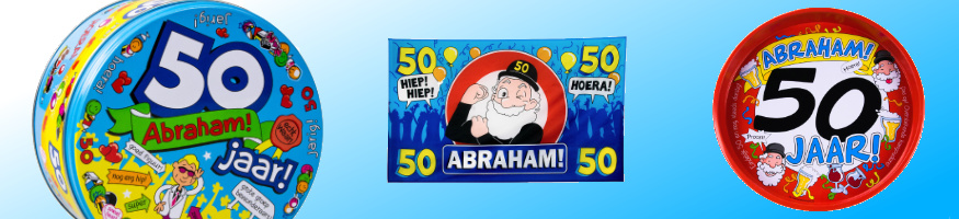 Abraham cadeaus en versiering