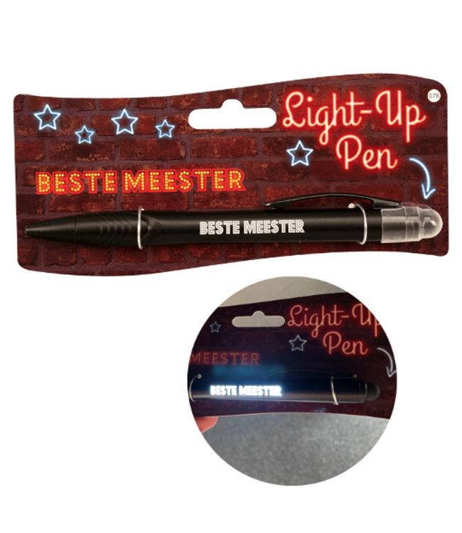 Lichtgevende Pen Beste Meester