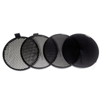 "Lencarta Grid Set of 4 for 7"" Standard Reflector"