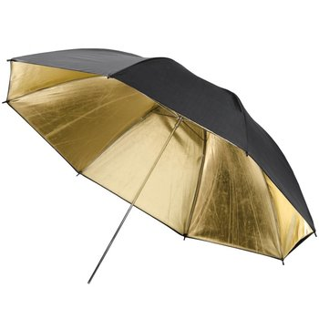 Lencarta Studio Umbrella Reflective 100cm Pro Gold