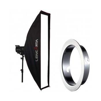Lencarta Softbox Striplight 27x140cm Profold Folding | Diverse merken Speedring Speedring