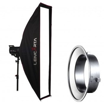 Lencarta Striplight Softbox 27x200cm Folding | For various brands speedring