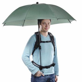 Walimex Pro Swing handsfree Regenschirm oliv mit Tragegestell
