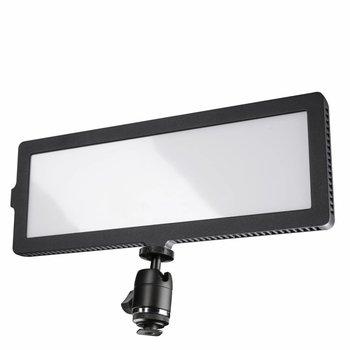 Walimex Pro LED Kameraleuchte Soft 200 Flat Bi Color