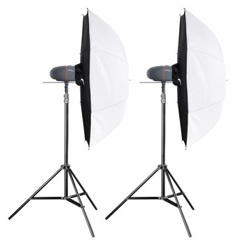 walimex pro Studio Lighting Kit Newcomer Set Classic 1,5/1,5 2DS