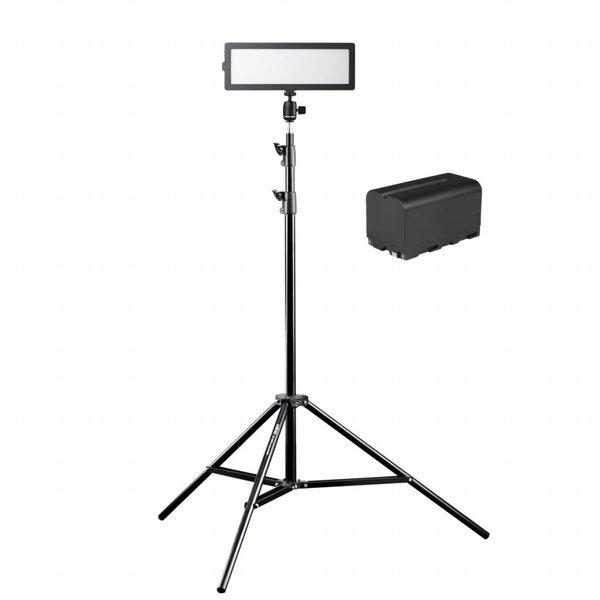 Walimex Pro Zachte LED 200 platte bi-kleurenset3