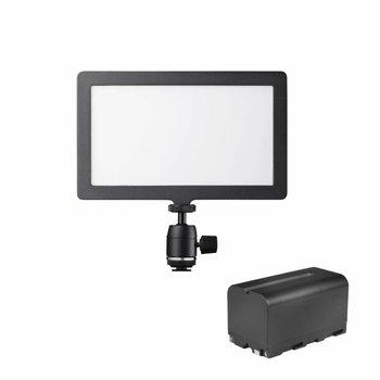 Walimex Pro LED Kameraleuchte Soft 200 Square Bi Color Set I