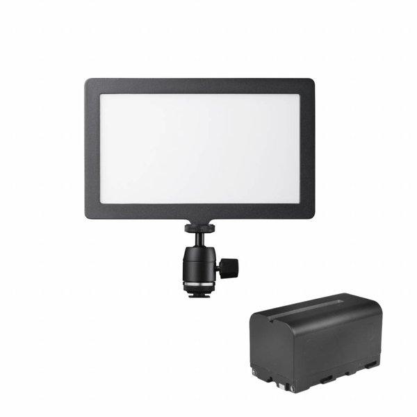 Walimex Pro Zachte LED 200-voudige bi-kleurenset1