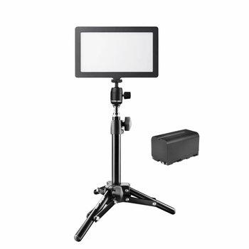 Walimex Pro LED Kameraleuchte Soft 200 Square Bi Color Set II