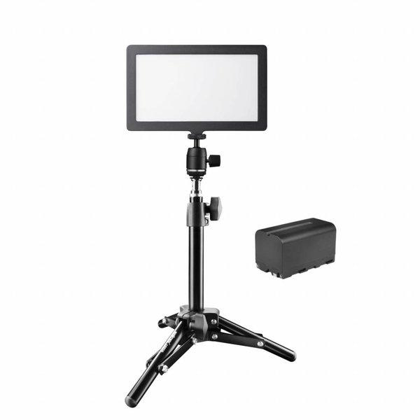Walimex Pro Zachte LED 200 Square Bi Color Set2