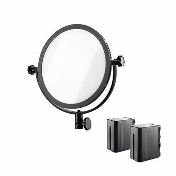 Walimex Pro LED Flächenleuchte Soft 300 Round Bi Color Set I