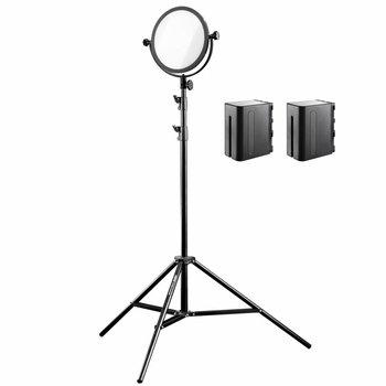 Walimex Pro LED Flächenleuchte Soft 300 Round Bi Color Set II