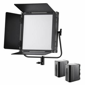 Walimex Pro LED Flächenleuchte Soft 520 Brightlight Bi Color Set