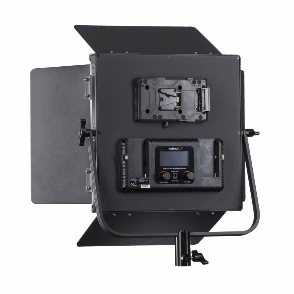 Stativ Walimex pro Soft LED Brightlight 520 Bi Color 40W Set inkl 2x NP-F