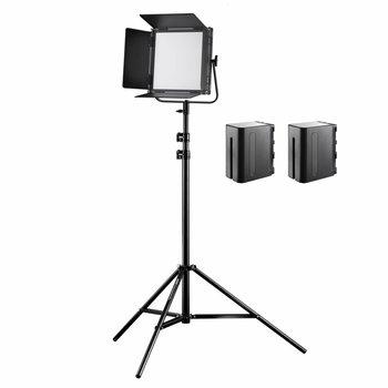 Walimex Pro LED Flächenleuchte Soft 520 Brightlight Bi Color Set II
