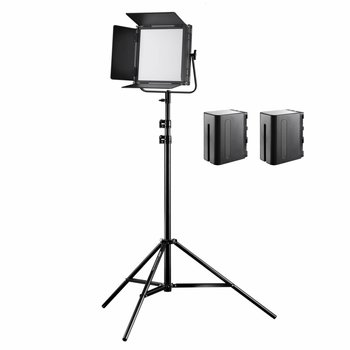 Walimex Pro LED Floodlight Soft 520 Brightlight Bi Color Set2